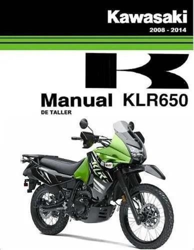 Imagen 1 de 1 de Manual De Taller Kawasaki Klr-650 Servicio / En Español.