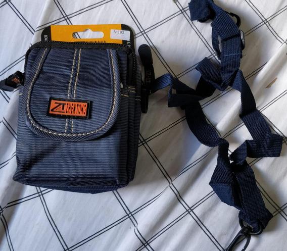 Estojo Brim Impermeavel 2 Fechos Para Maquina Fotografica