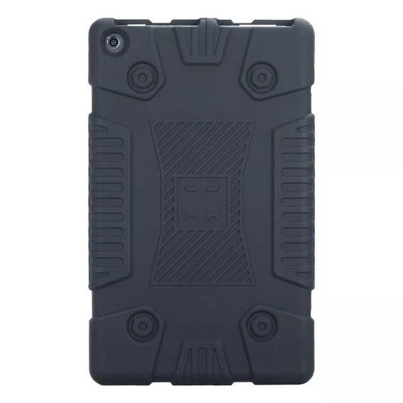 Capa Tablet Amazon Preta Fire Hd8 - Impacto Hd 8 - Silicone