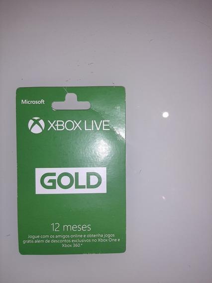 Xbox Live- 12 Meses