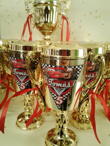 Copa Piston Cars Trofeo Premio Souvenir 15cm