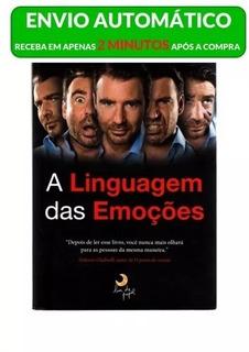 Livro A Linguagem Das Emoçoes - Paul_ekman + Frete Grátis