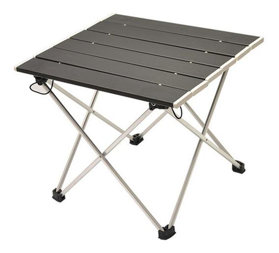 Portátil Plegable De Aluminio Enrollable Mesa De Camping Al