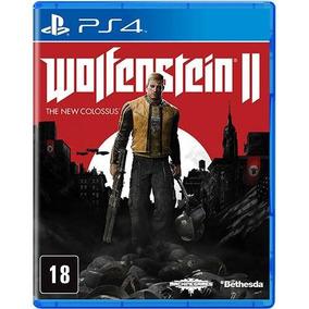 Wolfenstein 2: The New Colossus Playstation 4 Novo Lacrado