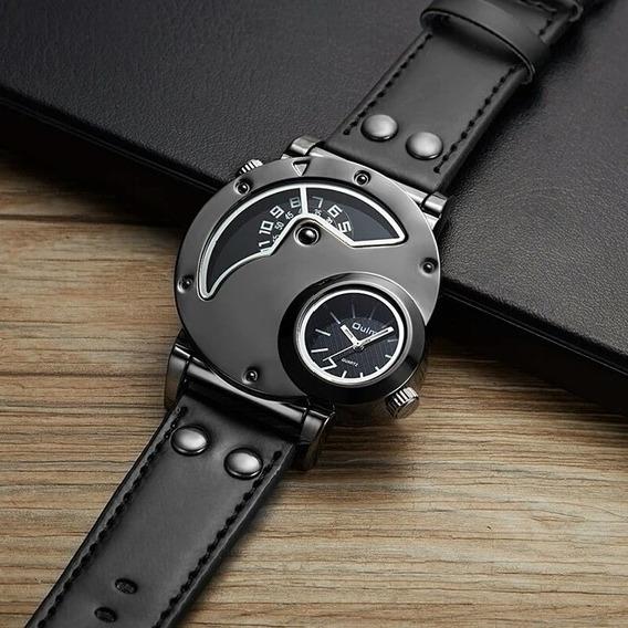 Relógio Masculino Modelo Russo Oulm Militar Original 9591
