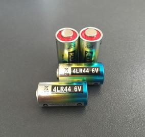 02 Pilha Bateria 4lr44 6v Coleira Anti Latido 476a A544x