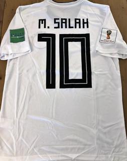 Camisa Do Egito Copa 2018 Salah Vs Rússia C/ Match Date