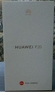Huawei P20 128 Gb / 4gb Ram (nuevo) Color Negro (liberado).