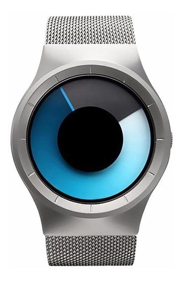 Relógio Fashion Moderno Silver Pronta Entrega