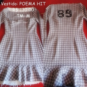 88f80574b9 Vestido Poema Hit - Calçados