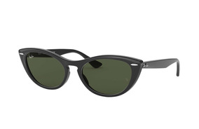 3c98855a5f Ray Ban Rb4314n 601/31 Nina Negro Verde G-15 Clasico Icon