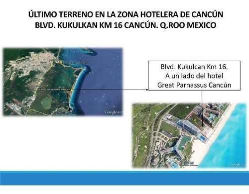 Terreno En Venta En Zona Hotelera