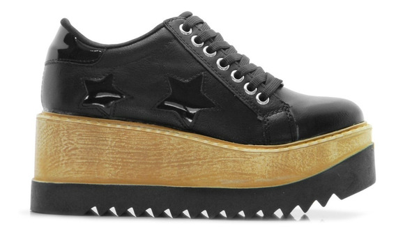 Zapato Zapatilla Sneaker Mujer Urbana Plataforma Hotsale
