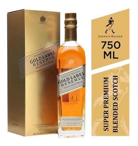 Imagen 1 de 1 de Whisky Johnnie Walker Gold Label