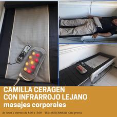 Servicio De Masajes En Camilla Ceragem Y Accesorios Antiestr