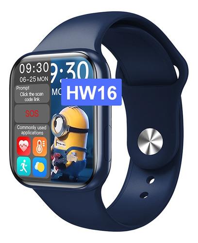 Smartwatch Hw16 Serie 6 Imagen Personalizable 44mmm
