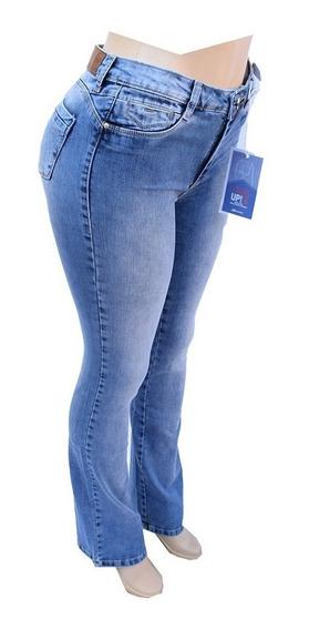 Calça Sawary Jeans Flare Tamanho 46 Com Lycra - 259725