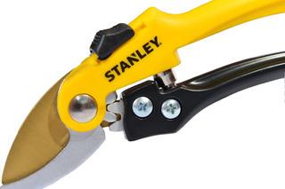 Tijera Podar Mano Bypass Stanley Bds6041 Titanio Madera Verd