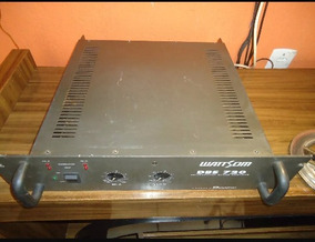 Amplificador Wattsom Dbs 720 Pra Vende Por 600 Reais