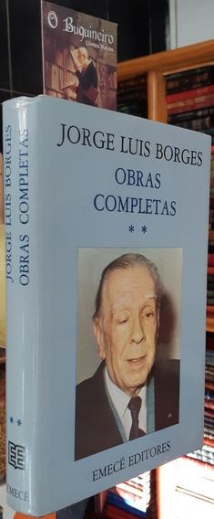 Obras Completas - Volume Ii - Jorge Luis Borges - Edição Arg