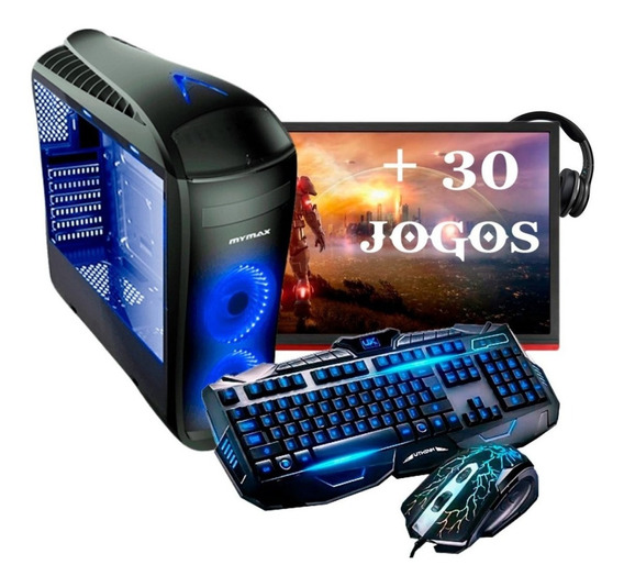 Pc Gamer Imperiums I3 9100f Hd 1tb Rx 550 +30 Jogos Rtw G2