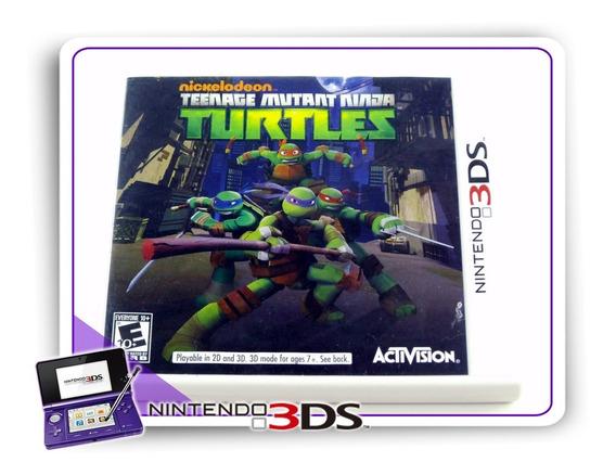 Teenage Mutant Ninja Turtles Danger Of The Ooze Original 3ds