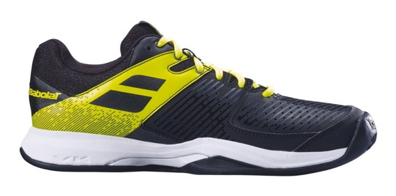 Tênis Babolat Pulsion Clay Men Black Fluo Aero Novo