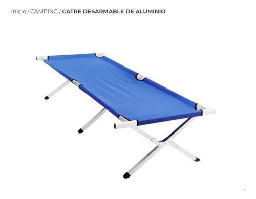 Catre Desarmable De Aluminio