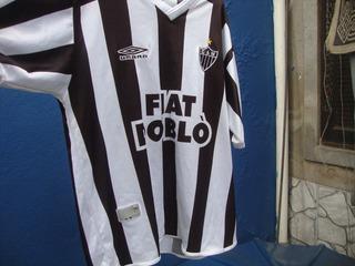Camisa Do Atlético Mineiro Temporada 2002 Tamanho Gg