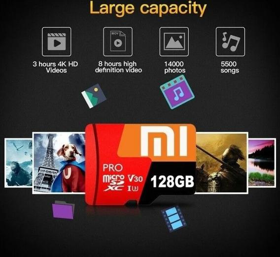 Cartão De Memória Pro 128 Gb Mi + Adaptador Sd