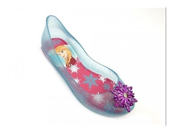 Sapatilha Disney Frozen Shine 21370 Grendene - Azul/rosa