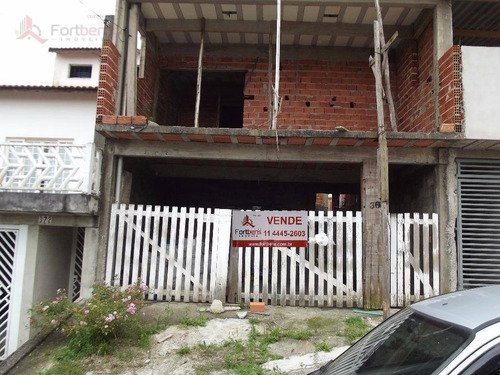 Sobrado Com 2 Dormitórios À Venda, 100 M² Por R$ 324.000,00 - Serpa - Caieiras/sp - So0080