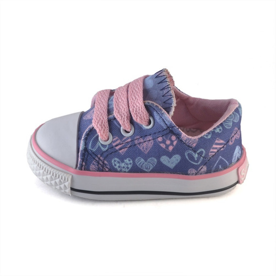 Zapatilla Puntera Bebe Corazones Small Shoes
