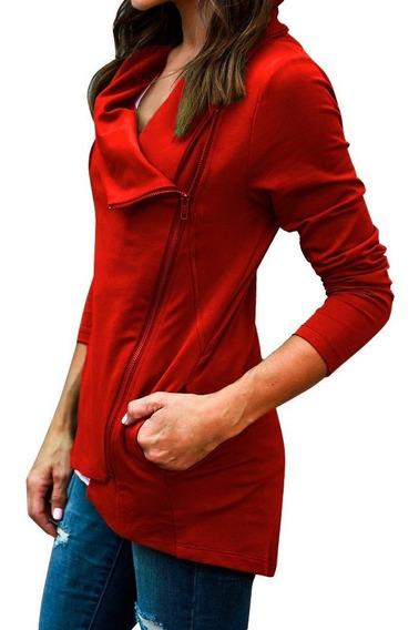 Campera Mujer Algodon Modelo Importado Hoodie A23