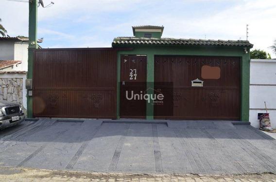 Casa Com 3 Dormitórios À Venda, 220 M² Por R$ 650.000,00 - Jardim Flamboyant - Cabo Frio/rj - Ca0994