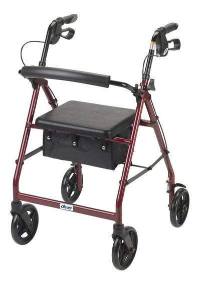 Andadera Andador Caminador Rollator De Aluminio Ortopedico