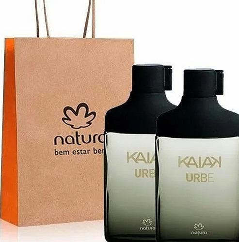 Perfume Kaiak Urbe X 2 Natura Original - mL a $272