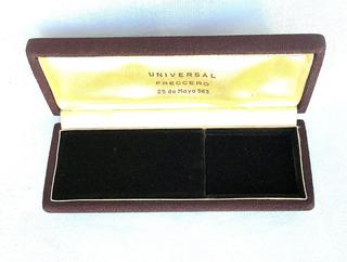 Estuche Para Reloj Pulsera Hombre Universal 16 X 6 X 2,4 Cm