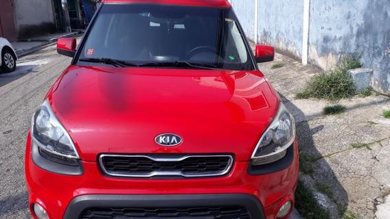Kia Suol 1.6 Aut 1.6 Vermelho Carro De Mulher