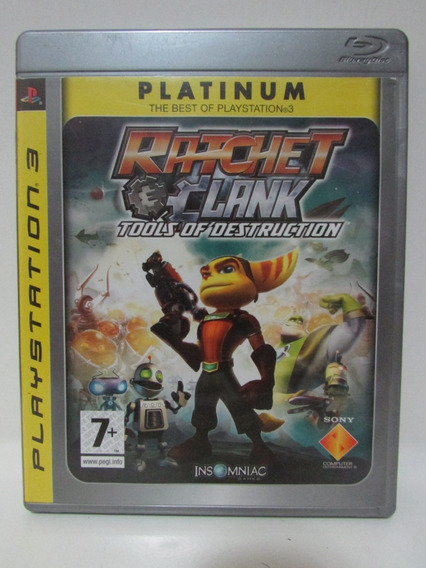 Ratchet & Clank Tools Of Destruction - Play 3 Completo