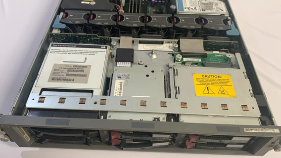 Servidor Hp Proliant Dl380 G3 Xeon 3.0ghz 2gb 140gb Hd 1777