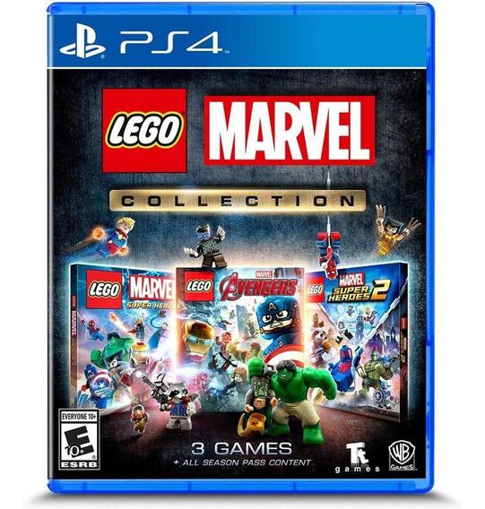 Lego Marvel Collection Ps4 Mídia Física Novo Lacrado
