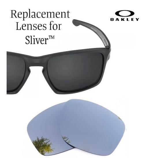 Micas De Reemplazo Para Oakley Sliver Color Chrome