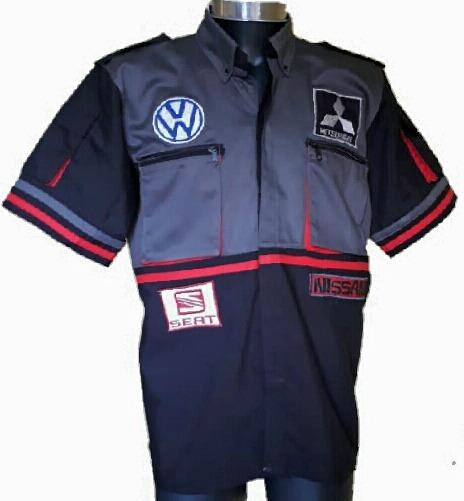 Camisolas Ideal Para Mecánico Con Logotipos