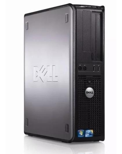 Cpu Dell 380 Core 2 Duo 4gb 320gb Wifi Windows 10 + Frete!