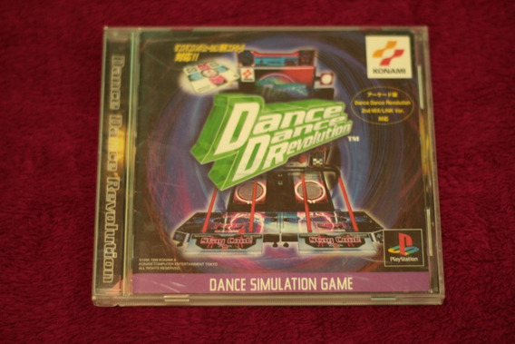 Dance Dance Revolution Para Playstation 1 Ps1 Psone Cod-07