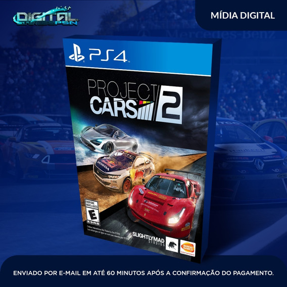 Project Cars 2 Ps4 Psn Digital Envio Hoje Original 1
