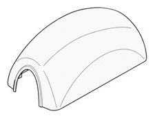 119-rig135 Refacción / Tapa Superior Para Gabinete Gard6