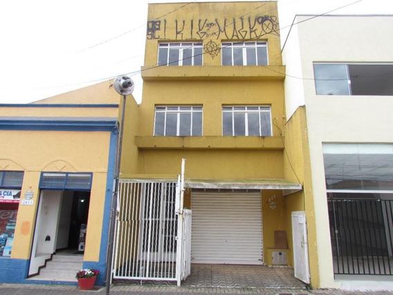 Prédio Comercial No Centro Com Loja E Salas - Pr0010