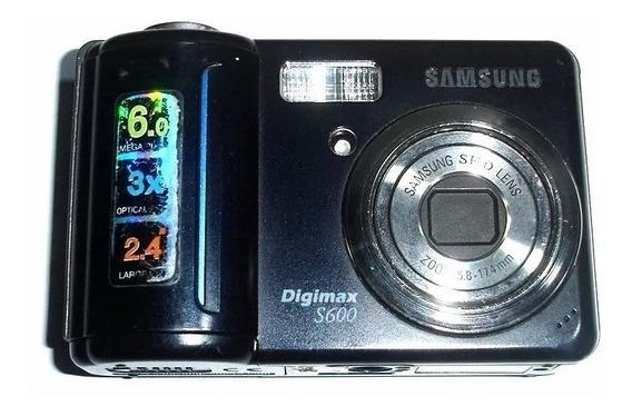 Câmera Samsung S600 Para Retirada De Peças